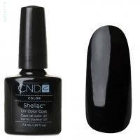 CND Shellac - Black Pool Гель-лак чёрный, насыщенный №518 - 7.3 ml