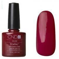 CND Shellac - Decadence Гель-лак спелая вишня, эмаль №525 - 7.3 ml