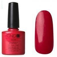 CND Shellac - Hollywood Гель-лак ярко-красный с играющими микро-блёстками №521 - 7.3 ml