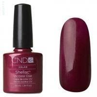 CND Shellac - Masquerade Гель-лак глубокий бордовый, перламутр № 515 - 7.3 ml