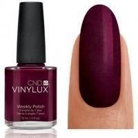 CND Vinylux - Лак для ногтей Masquerade Глубокий бордовый, перламутр №130 - 15 ml