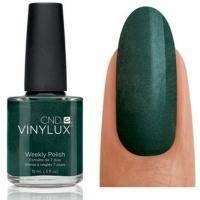 CND Vinylux - Лак для ногтей Serene Green Изумрудный с микроблеском №147 - 15 ml