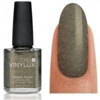 CND Vinylux - Лак для ногтей Steel Gaze Серо-бронзовый с микроблестками №149 - 15 ml