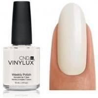 CND Vinylux - Лак для ногтей Studio White Молочно-белый, френч № 151 - 15 ml