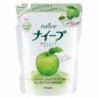 Kanebo - Жидкое мыло для тела Naive для всех типов кожи с экстрактом яблока - 462 ml