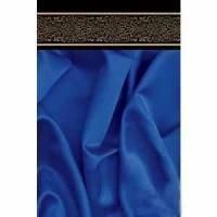 Пакет бумажный Sabona - Синяя ткань 34x48x12