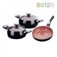 Granchio - Набор посуды Terracotta 3 предметов (арт. 88129)