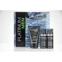 Dr Irena Eris - Platinum men - Набор (Крем устраняющий первые признаки старения 50ml+Бальзам после бритья 50ml+Шампунь-гель для тела и волос 125ml)