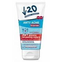 Lirene - Anti! Acne Intense 2 в 1 - Гель-пилинг для лица Under Twenty Anti! - 75 ml