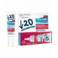 Lirene - Активный гель точечного приминения SOS Under Twenty Anti Acne Intense Active - 10 ml