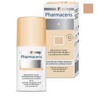 Деликатный тональный флюид Pharmaceris F - Intense Coverage Mild Fluid Foundation SPF20 №03 Бронза - 30 ml