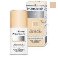 Деликатный тональный флюид Pharmaceris F - Intense Coverage Mild Fluid Foundation SPF20 №02 Песок - 30 ml