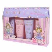 Grace Cole - Набор подарочный для тела Glitter Fairies Ballet School (пена для ванны 100 ml + гель для душа 100 ml + шампунь для волос 100 ml + лосьон для тела 100 ml)