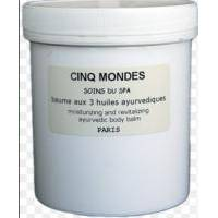 Cinq Mondes - Three Ayurvedic Oils Body Balm Бальзам для тела Три Аюрведических Масла - 500 ml