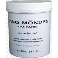 Cinq Mondes - Coffee Cream Массажный крем для похудения и укрепления – 500ml