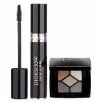 Christian Dior - Набор (Тушь для ресниц Diorshow New Look 10 ml + тени для век 5-тицветные mini)
