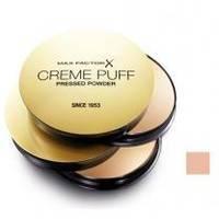 Пудра для лица Max Factor - Creme Puff №81 Естественный светлый - 21 g New Design 2013