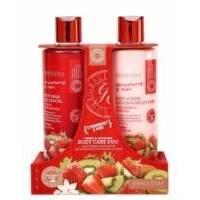 Grace Cole - Набор для ухода за телом Body Care Duo Strawberry & Kiwi с ароматом клубники и киви
