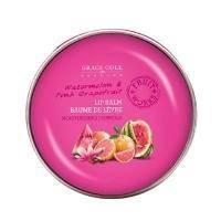Grace Cole - Бальзам для губ питательный, увлажняющий Lip Balm Watermelon & Pink Grapefruit - 12 g
