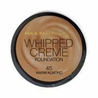 Крем-мусс тональный для лица с матирующим эффектом Max Factor - Whipped Creme Foundation №45 Warm Almond/Теплый миндаль - 18 ml