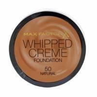 Крем-мусс тональный для лица с матирующим эффектом Max Factor - Whipped Creme Foundation №50 Natural/Натуральный - 18 ml