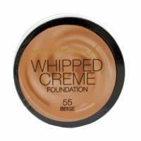 Крем-мусс тональный для лица с матирующим эффектом Max Factor - Whipped Creme Foundation №55 Beige/Бежевый - 18 ml