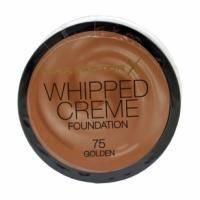 Крем-мусс тональный для лица с матирующим эффектом Max Factor - Whipped Creme Foundation №75 Golden/Песочный - 18 ml