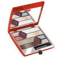 Pupa - Pupa Palette Show Collection №01 Bon Ton - Набор для макияжа (4 х тени для век+6 х блеск для губ+1 х аппликатор)