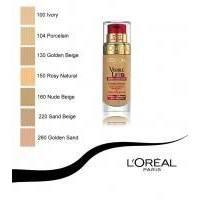 Тональный крем Lоreal -  Visible Lift №130 Golden Beige