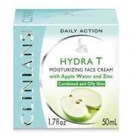 Крем-гель для лица матирующий для жирной кожи с Яблочной водой Clinians - Hydra-T - 50 ml (17454)