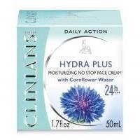 Крем для лица суперувлажняющий 24 часа с экстрактом Василька Clinians - Hydra Plus - 50 ml (10692)