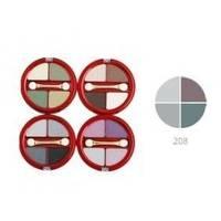 Тени для век 4-х цветные Victoria Shu - Dream №208 - 8.5 g (16301)