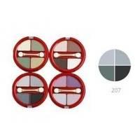 Тени для век 4-х цветные Victoria Shu - Dream №207 - 8.5 g (15518)