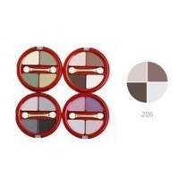 Тени для век 4-х цветные Victoria Shu - Dream №206 - 8.5 g (15517)