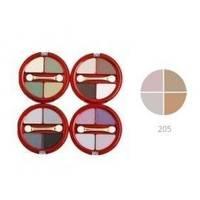 Тени для век 4-х цветные Victoria Shu - Dream №205 - 8.5 g (15516)