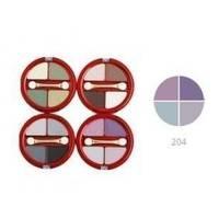 Тени для век 4-х цветные Victoria Shu - Dream №204 - 8.5 g (15515)