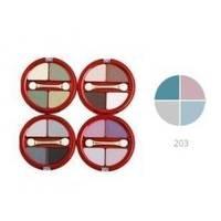 Тени для век 4-х цветные Victoria Shu - Dream №203 - 8.5 g (15514)