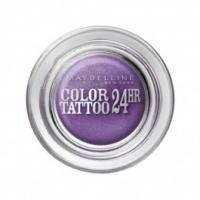 Тени для век кремово-гелевые 1-цветные Maybelline - Color Tattoo 24h №15 Бесконечный фиолетовый - 4.5 g
