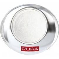 Тени для век 1-цветные запеченные с эффектом атласа Pupa - Luminys Silk №100 Белый - 2.2 g