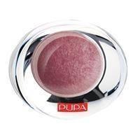 Тени для век 1-цветные запеченные с эффектом атласа Pupa - Luminys Silk №300 Терракотовый - 2.2 g
