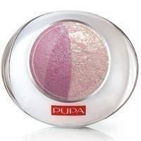 Тени для век 2-цветные запеченные Pupa - Luminys №20 Розовый/нежно-розовый - 2.2 g