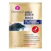 Dermacol Gold Elixir Маска омолаживающая с экстрактом икры Rejuvenating Caviar Face Mask   2 х 8 gr - 16 gr (15650)