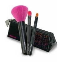 Beter - Набор кистей для макияжа в косметичке (для лица, теней и консилера) Viva Mini Kit 3 (2931)