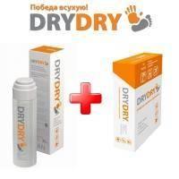 Dry Dry (Драй Драй) от обильного потовыделения - Набор (Дезодорант Драй Драй 35 ml + Салфетки 10 шт)