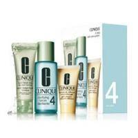 Clinique - System Type IV Набор (Мыло Liquid Facial Soap 50 ml + лосьон для лица Clarifiante Lotion 4 100 ml + лосьон для лица 30 ml)