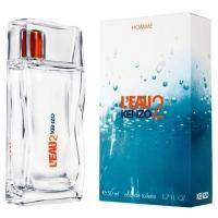 Leau 2 Kenzo pour Homme - Набор (туалетная вода 50 ml + косметичка)