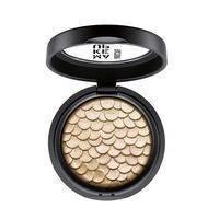 Make Up Factory - Тени для век 1-цветные перламутровые Chromatic Glam Eye Shadow № 08 Glamorous Silver - 2.5 g