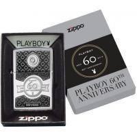 Зажигалка Zippo - Playboy 60th Anniversary (28735)