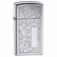 Зажигалка Zippo - Venetian High Polish Chrome (1652)