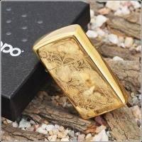 Зажигалка Zippo - Venetian High Polish Brass (1652B)